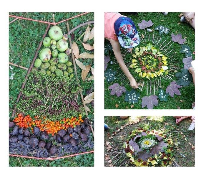 Ateliers Land Art avec Sophie Lebbrecht