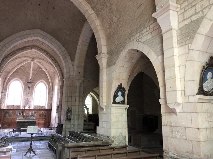 Journées du patrimoine 2019 - Église abbatiale cistercienne de La Bussière-sur-Ouche