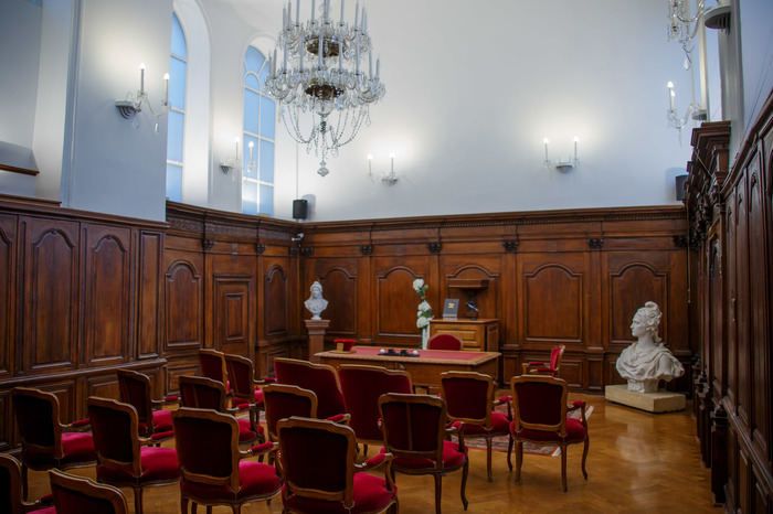 Journées du patrimoine 2019 - Découverte de la salle des mariages