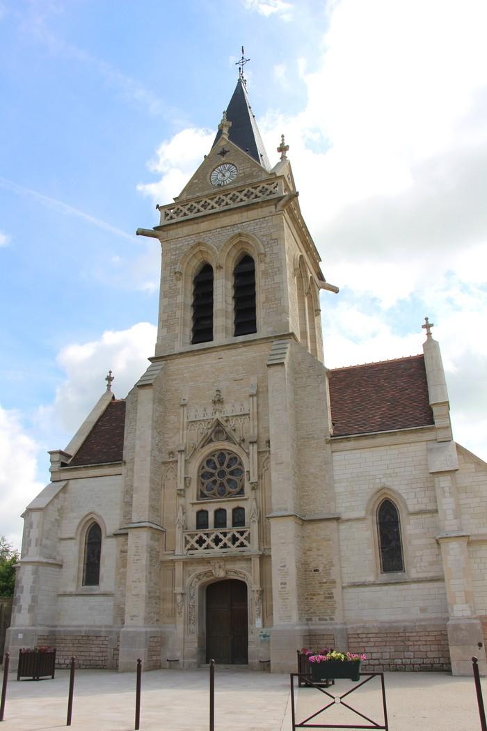 Journées du patrimoine 2019 - Découverte de l'église de Lusigny-sur-Barse