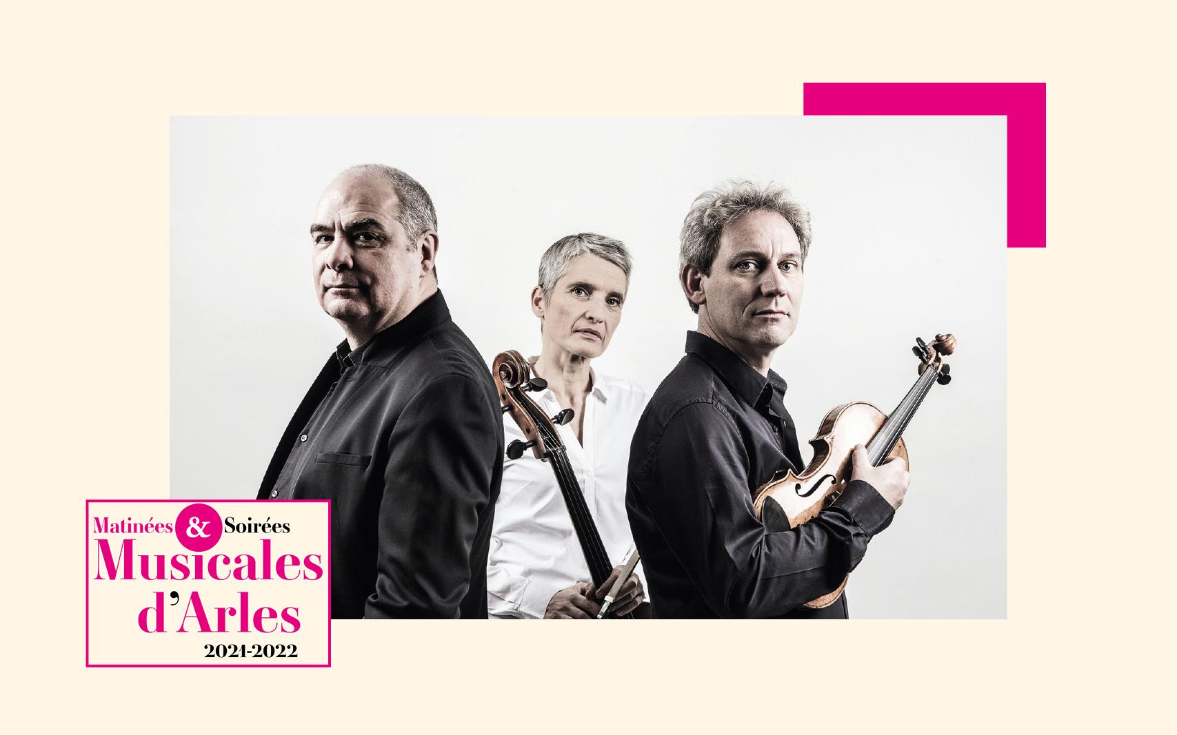 C'est autour des trios de Beethoven que les trois stars de la musique classique se réunissent pour cette matinée évènement !