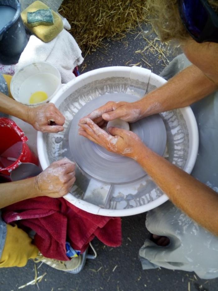 Journées du patrimoine 2019 - Dessin, patchwork, tour du potier ... venez tester vos talents artistiques aux Arcs