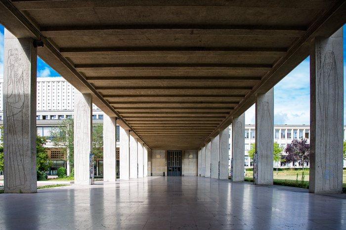 Journées du patrimoine 2019 - Visite guidée du Campus 1 de Caen