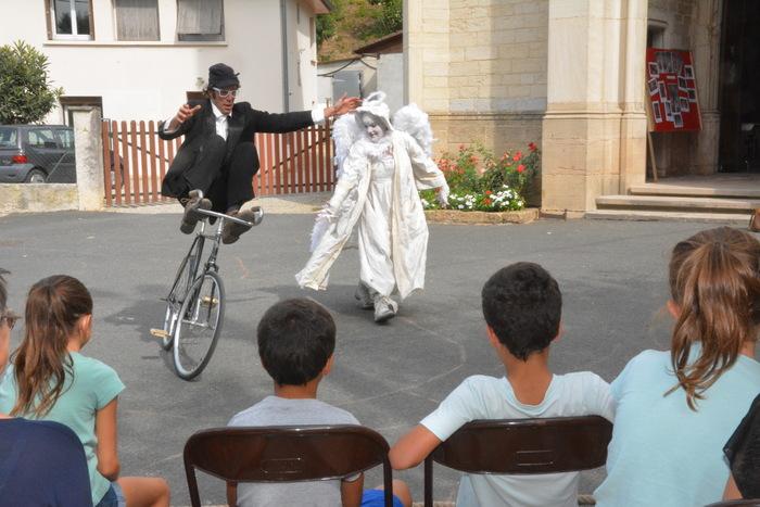 Journées du patrimoine 2020 - Duo clown & vélo acrobatique
