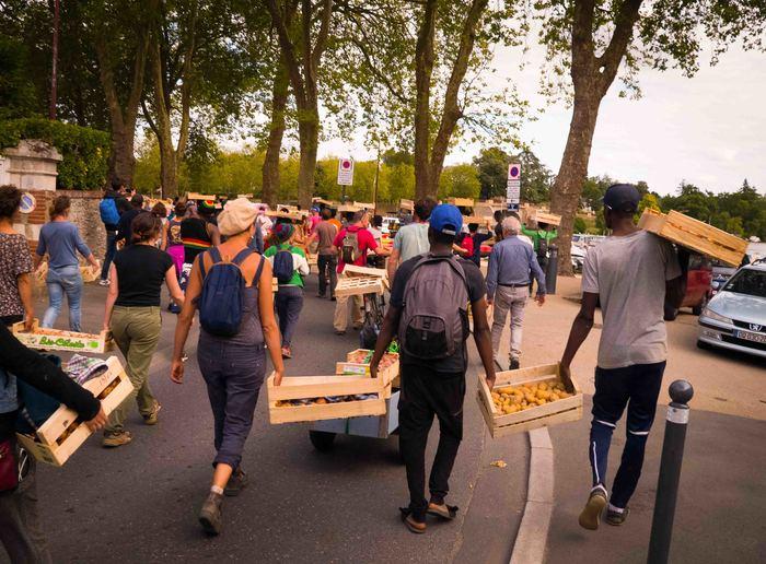 Le grand voyage des légumes solidaires