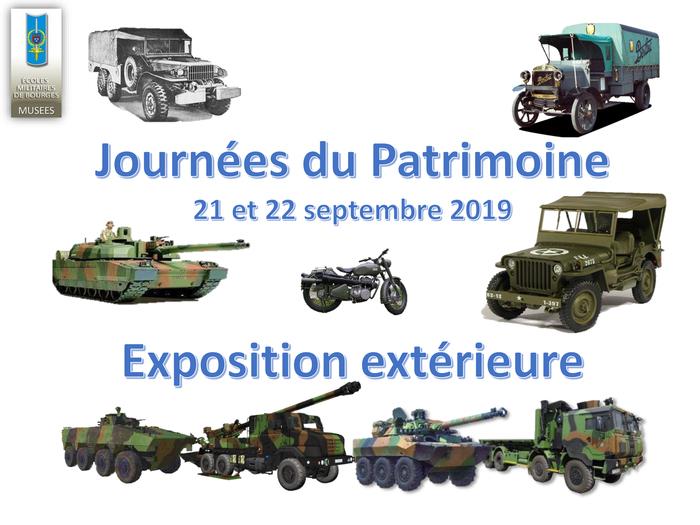 Journées du patrimoine 2019 - Exposition de véhicules militaires