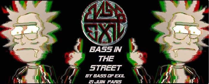 Fête de la musique 2019 - Bass of Exil : Bass in the Street