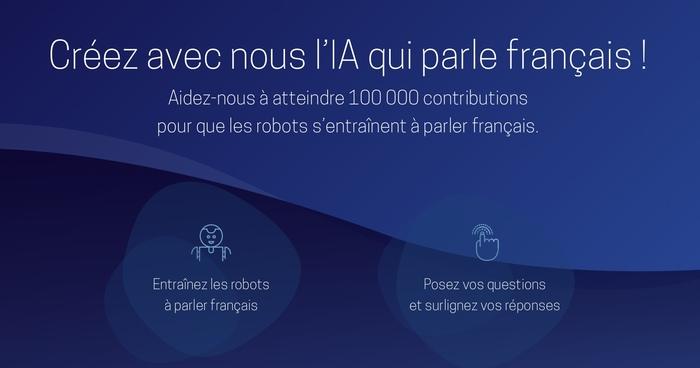 Pour une Intelligence Artificielle Francophone (PIAF): Apprenez aux robots comment les humains parlent vraiment le français