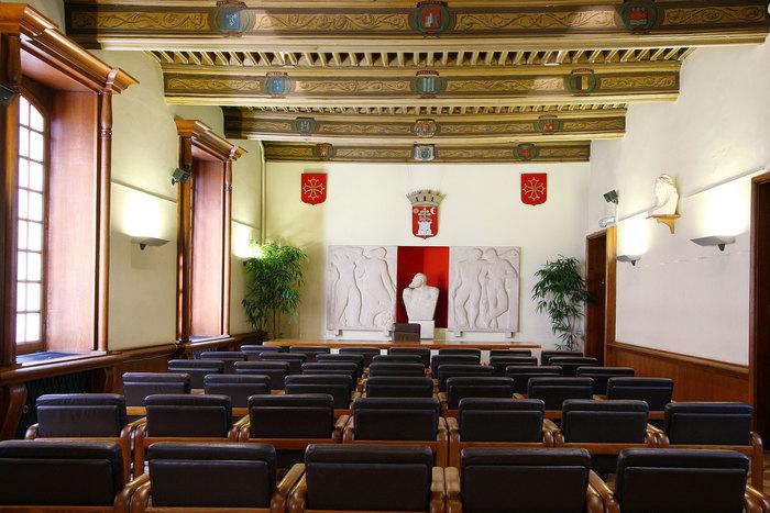 Visite libre de la salle des Etats Albigeois ornée de plafonds peints