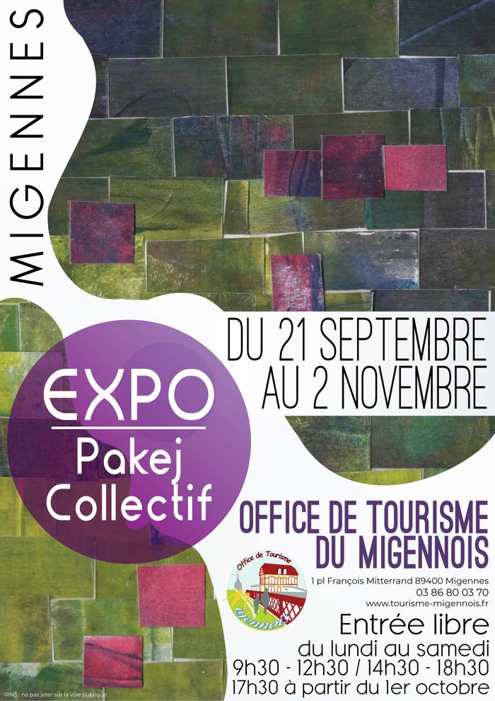 Journées du patrimoine 2019 - Exposition à l'Office de Tourisme du Migennois