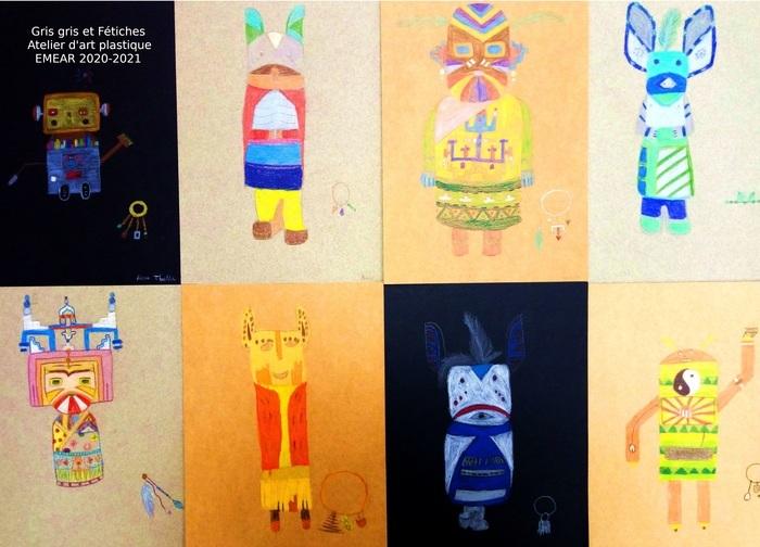 Exposition des ateliers d'art plastique de l'école municipale d'enseignements artistiques de Ramonville