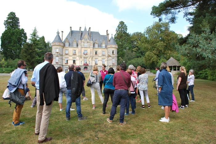 Journées du patrimoine 2019 - Visite guidée des extérieurs du château - Hôtel de Ville