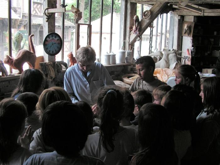Journées du patrimoine 2019 - Levez les yeux ! visite guidée de la poterie du mesnil de Bavent