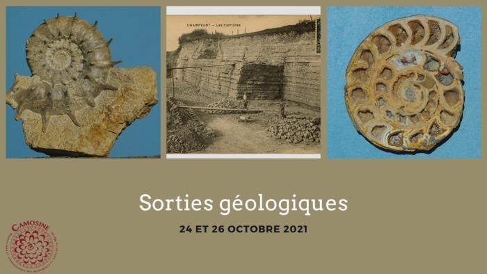 Sortie géologique 24 octobre 2021