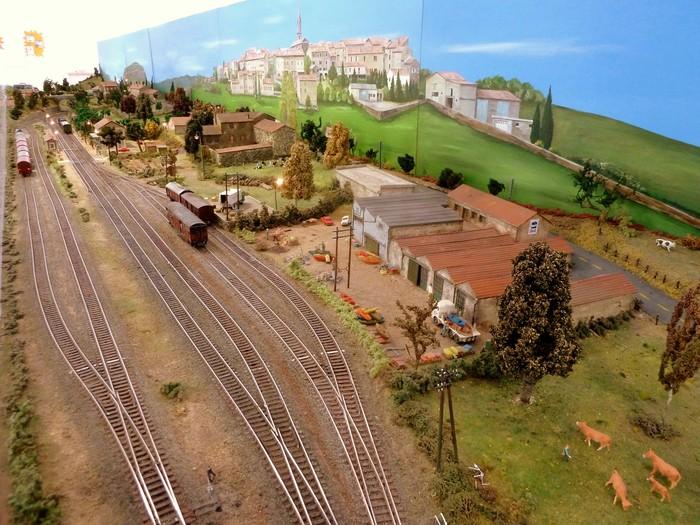 Journées du patrimoine 2019 - Maquette ferroviaire