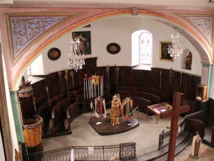 Journées du patrimoine 2019 - Les amis du vieux Tence vous proposent une visite commentée de la chapelle