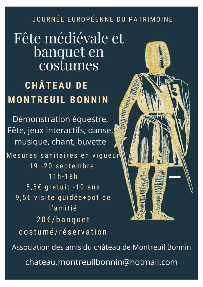 Journées du patrimoine 2020 - Fête médiévale au château