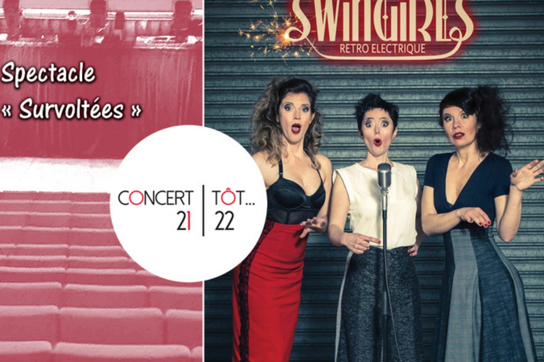 Concert tôt... Swingirls