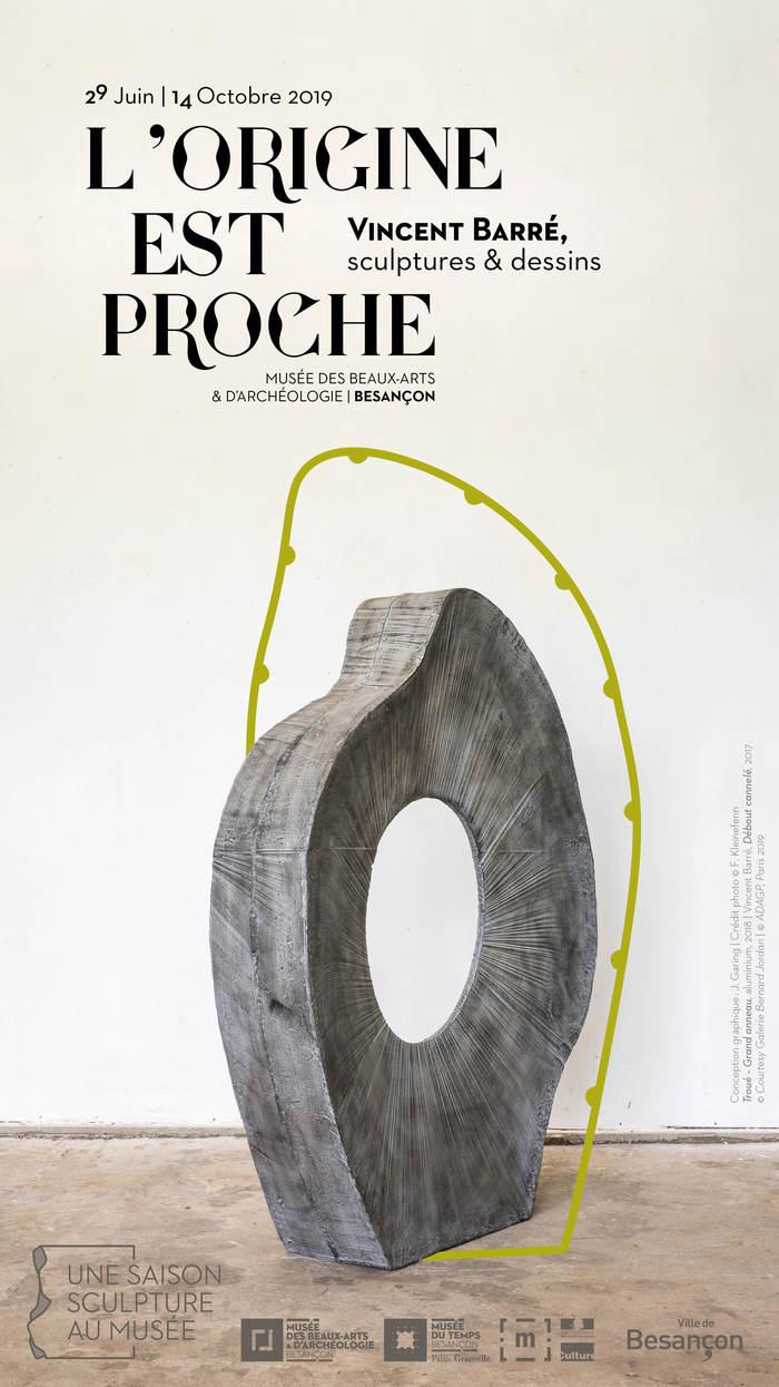 Journées du patrimoine 2019 - L'Origine est proche : Vincent Barré, sculptures & dessins