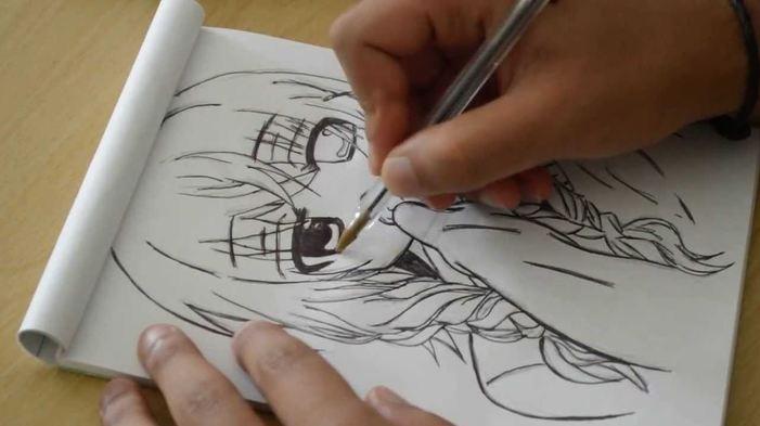 Du mercredi 15 au vendredi 17 juillet – stage dessin Manga : le portrait, 11-18 ans