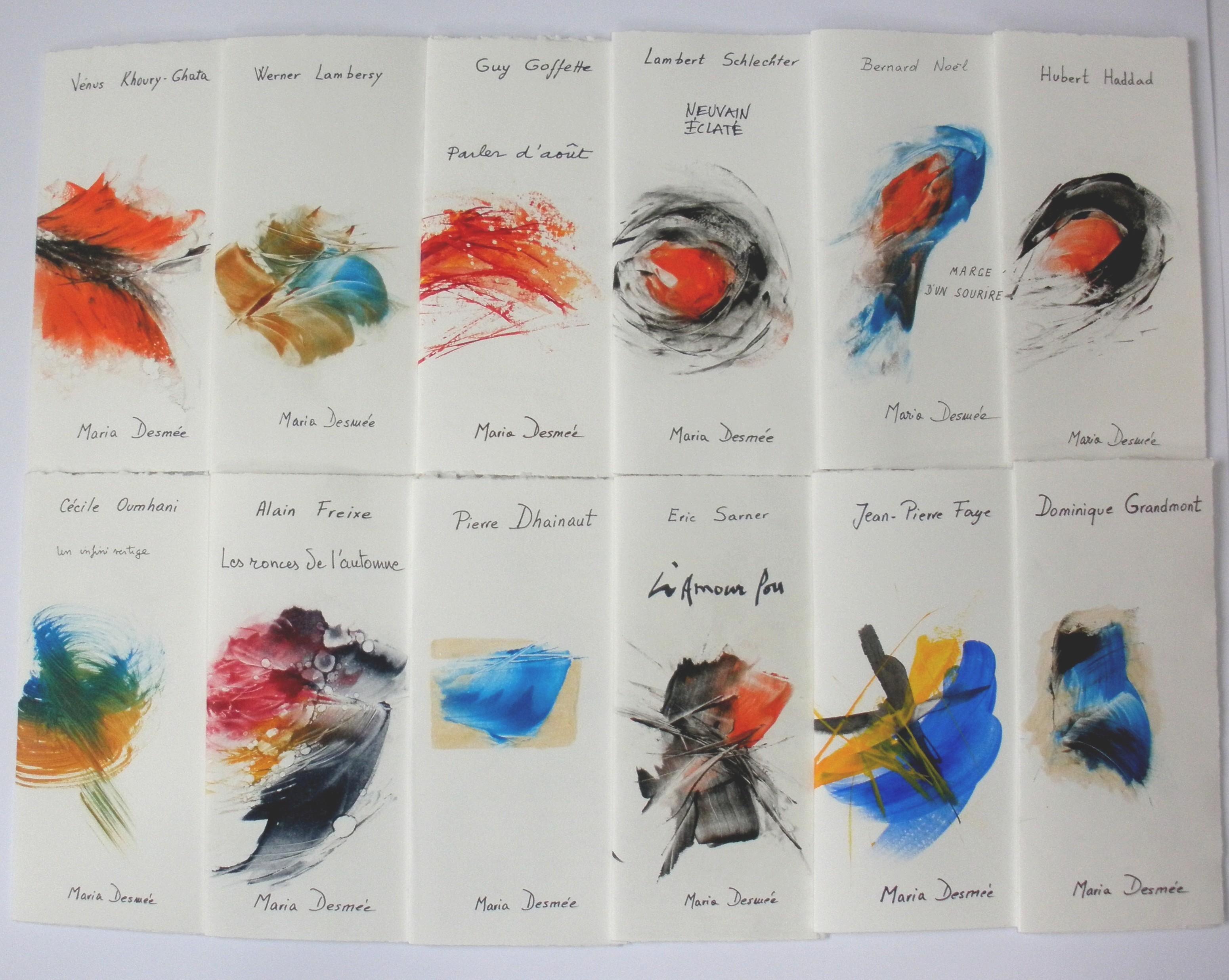 La médiathèque prend des gants avec Maria Desmée, artiste peintre et poète