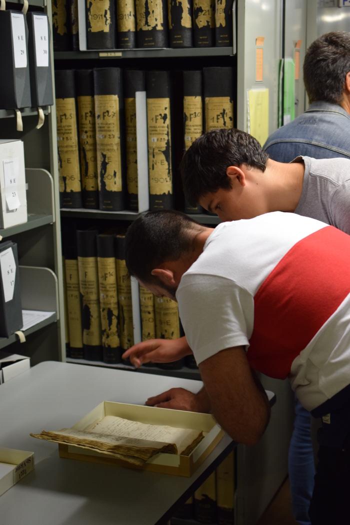 Journées du patrimoine 2020 - Annulé | Visite guidée des magasins des archives