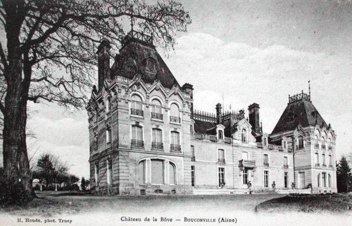 Journées du patrimoine 2020 - Visite libre du Château de la Bove à Bouconville-Vauclair