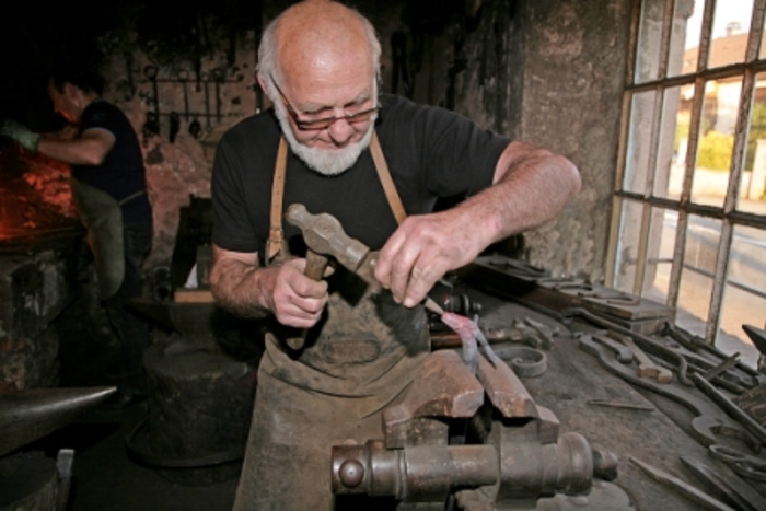 Journées du patrimoine 2019 - Démonstration de forge et des métiers