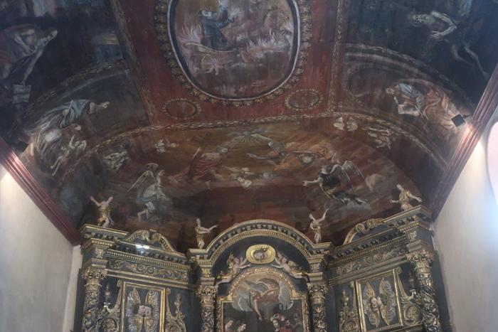 Journées du patrimoine 2020 - Visite guidée du plafond de la chapelle des Pénitents Noirs
