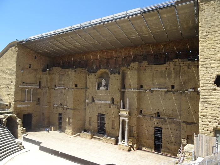 Journées du patrimoine 2020 - Visite libre du Théâtre Antique d'Orange, un incontournable de la Provence Romaine, dimanche 20 septembre lors des Journées du Patrimoine.