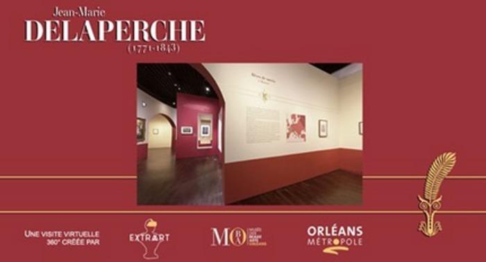 """Visitez l'exposition """"Jean-Marie Delaperche, un artiste face aux tourments de l'Histoire"""" depuis votre canapé grâce à cette visite immersive sur ordinateur, tablette et smartphone !!"""