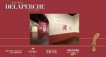 Visite immersive / Exposition Jean-Marie Delaperche au musée des Beaux-Arts d'Orléans