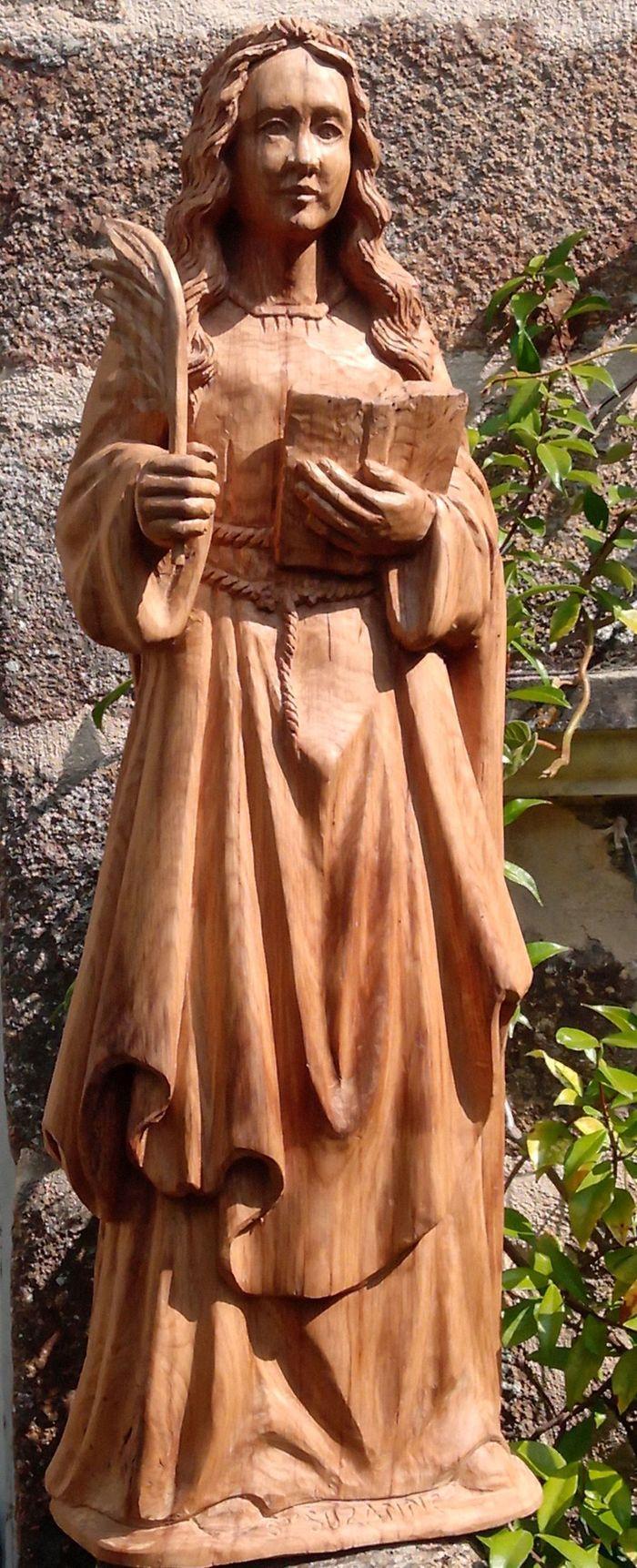 Journées du patrimoine 2020 - Levez les yeux ! : A la découverte des statues de l'église