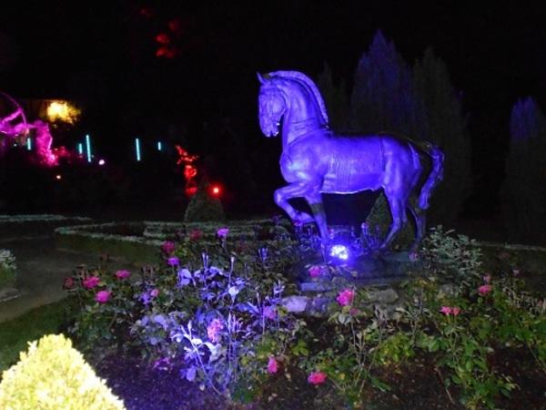 Nuit des musées 2019 -Illumination des sculptures