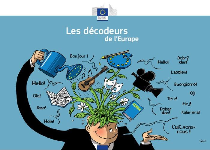 EXPOSITION ET ANIMATION LES DECODEURS DE L'EUROPE