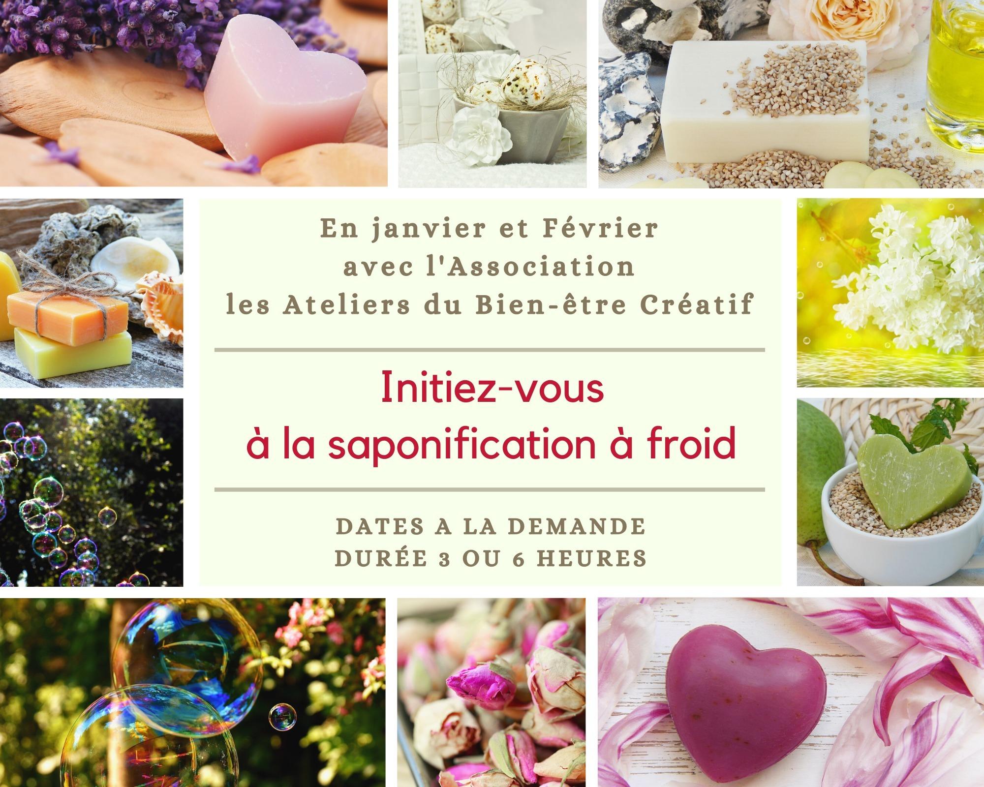 Venez apprendre à fabriquer vos savons naturels, 100% biodégradables et parfumés selon vos envies. Et repartez avec vos créations!