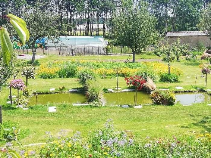Journées du patrimoine 2020 - Visite du potager et du jardin aux mille roses de la Hardouinais