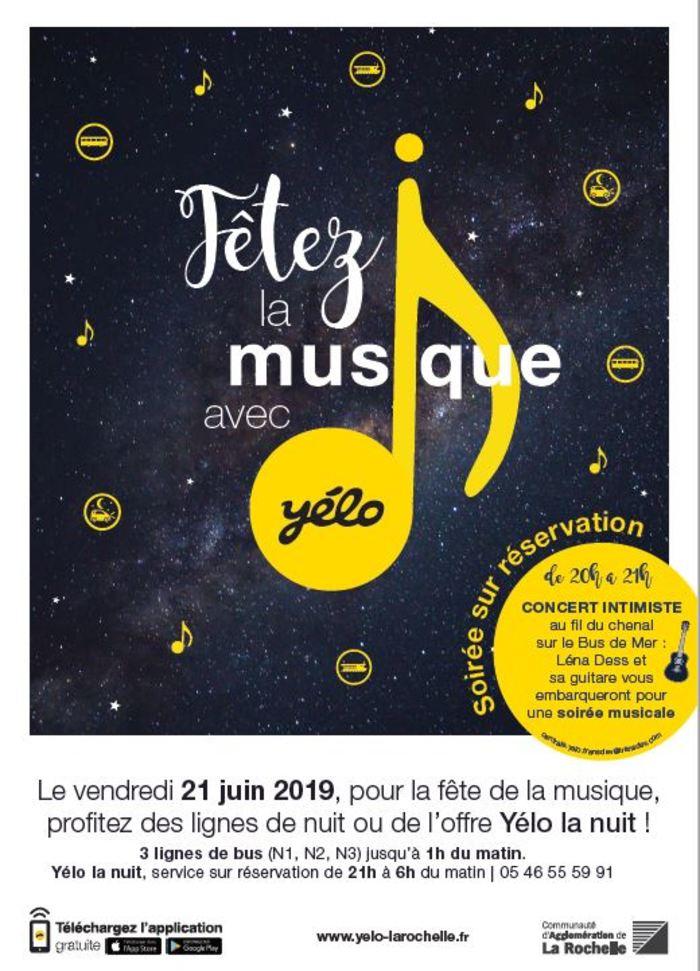 Fête de la musique 2019 - CONCERT INTIMISTE SUR LE BUS DE MER