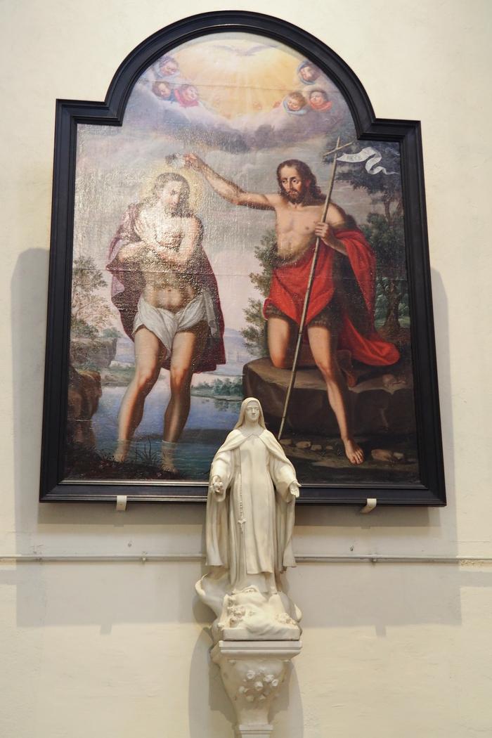 Journées du patrimoine 2019 - Visite guidée des tableaux d'art sacré de l'église