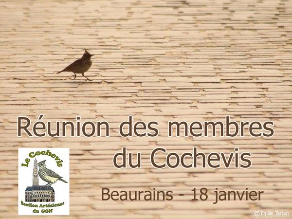 Réunion de la section Le Cochevis