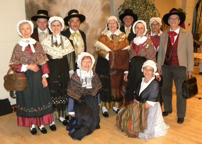 Journées du patrimoine 2020 - Musiques et Danses traditionnelles du Dauphiné avec un groupe folklorique en costumes