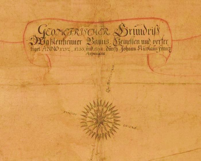 Journées du patrimoine 2019 - Exposition du plan de Wasselonne de 1732 proposée par le Cercle d'Histoire