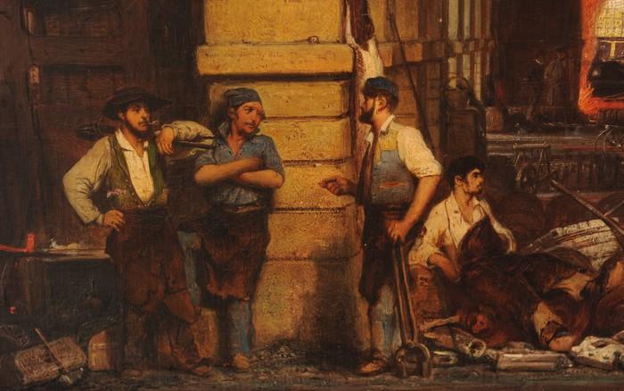 Fourchambault et Abainville, deux forges à l'anglaise sous le pinceau de François Bonhommé (1809-1881)