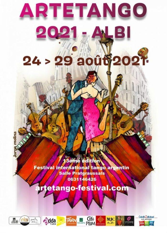 """13ème édition du festival """"100% tanguero"""""""