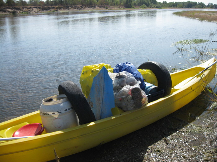 Journées du patrimoine 2020 - Nettoyons la Loire en canoë