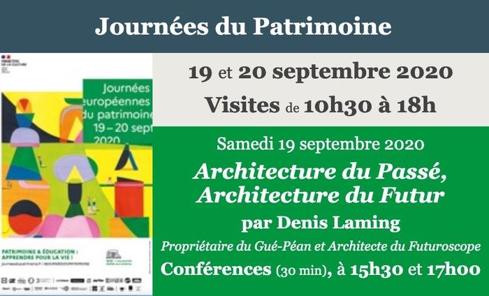 Journées du patrimoine 2020 - Conférence :