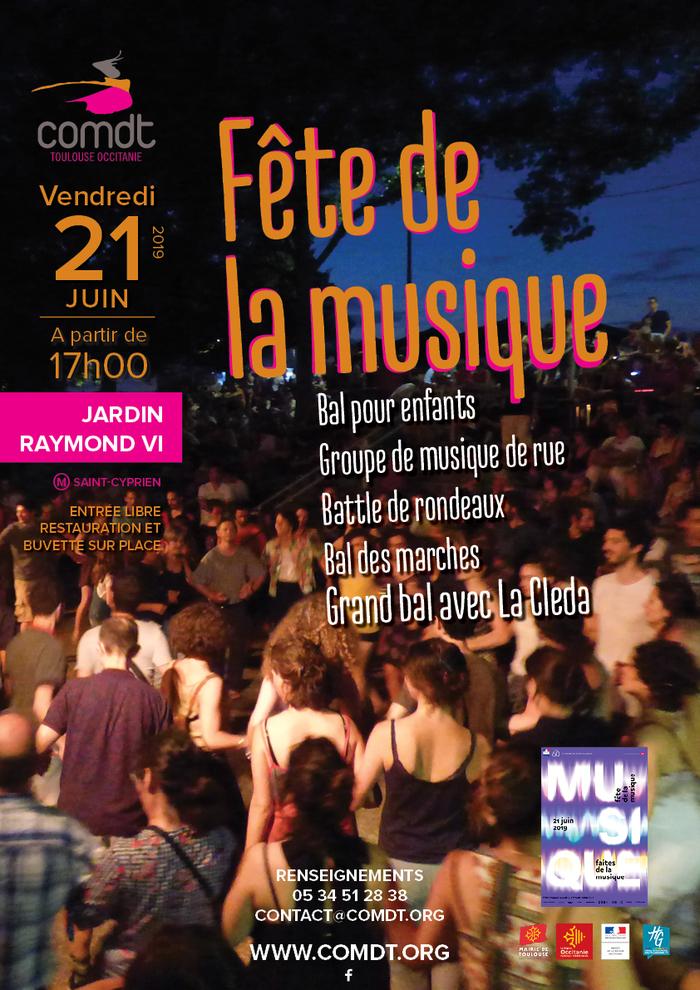 Fête de la musique 2019 - Bal pour enfants / Groupe de musique de Rue / COMDT / La Cleda