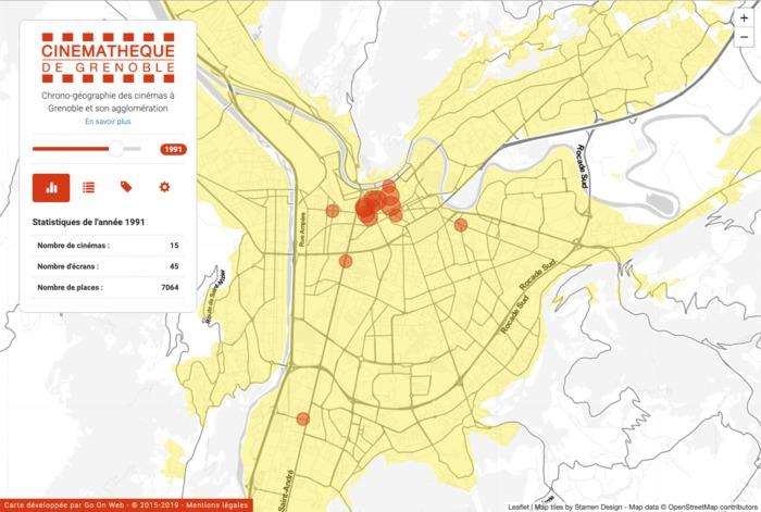 Journées du patrimoine 2019 - Découverte de Ciné-Grenoble