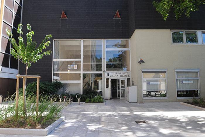Journées du patrimoine 2020 - Visite libre de la médiathèque Verlaine