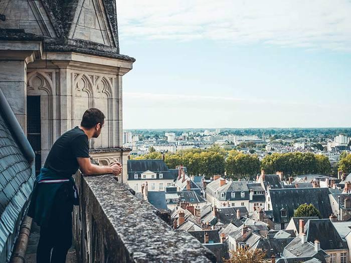 Des hauteurs de la cathédrale aux profondeurs de la crypte Saint-Avit...